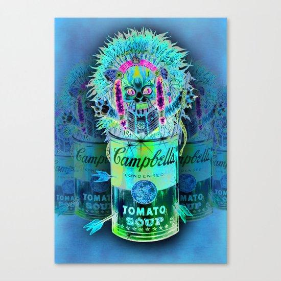 Kitty Pop Canvas Print