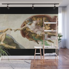 The Creation of Adam Wall Mural
