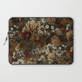 Night Garden Gold Laptop Sleeve