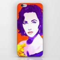 jenny liz rome iPhone & iPod Skins featuring Liz by Marco Kooiman