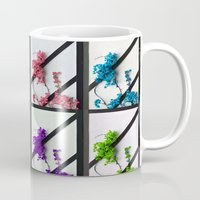 poem Mugs featuring Floral poem by RicardMN Photography