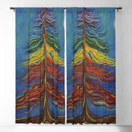 CHAKRA MOON Blackout Curtain