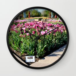 Muscogee (Creek) Nation - Honor Heights Park Azalea Festival, No. 10 of 12 Wall Clock