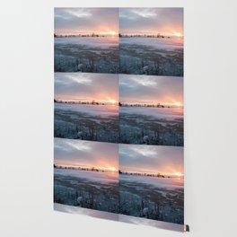 Sunrise at the Pond Wallpaper