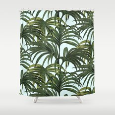 #tropical Shower Curtain