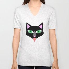 Norman Reedus's black cat Unisex V-Neck