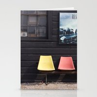 posters Stationery Cards featuring Seats outside Heritage Posters by RMK Photography