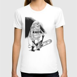 Père Noël effrayant / Creepy Santa T-shirt