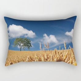 summer cereals sun Rectangular Pillow