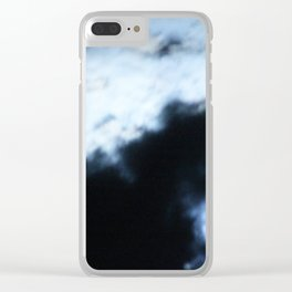 Bright and Eerie Moonlight Clear iPhone Case