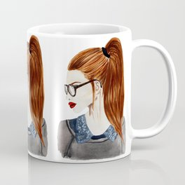 Ebba fashion illustration girl  Coffee Mug