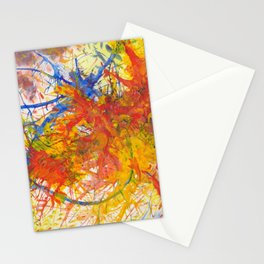 Branches Aflame with Flower Stationery Cards