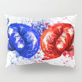 Boxing Gloves Pillow Sham