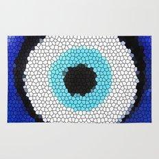 Blue eye Luck Rug