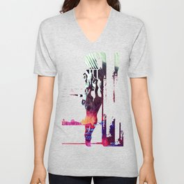 A Somber Affair Unisex V-Neck