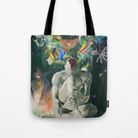 archan nair Tote Bags featuring Ia:Sija by Archan Nair