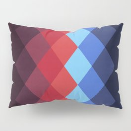 Retro Diamonds Pillow Sham