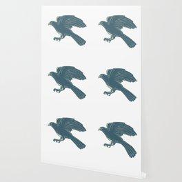 Northern Goshawk Scratchboard Wallpaper