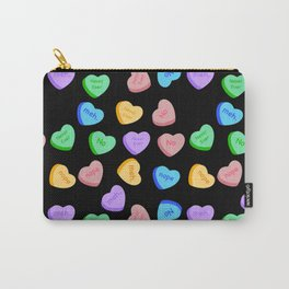 NO - Unhappy Valentines day repeating pattern Carry-All Pouch