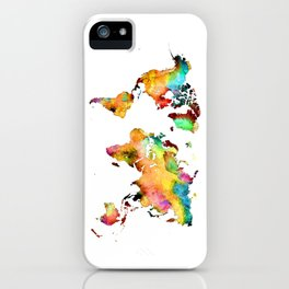 world map 71 iPhone Case