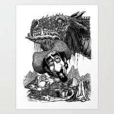 Ahem... Art Print
