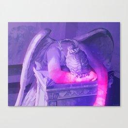 Vaporwave Statue Canvas Print