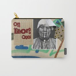 Berlin Graffiti-on ignore quoi Carry-All Pouch