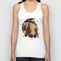 marauders Tank Tops featuring marauders moon by Kirsten Stackhouse