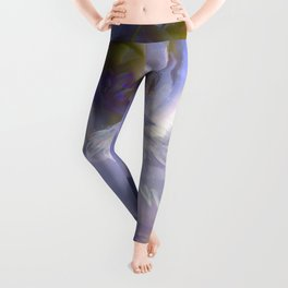 Fairy tale fantasy - purple rose Leggings