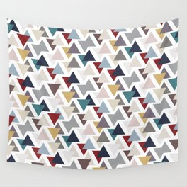 Scatter triangles Wall Tapestry