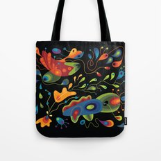Wobbly Whiskers Tote Bag