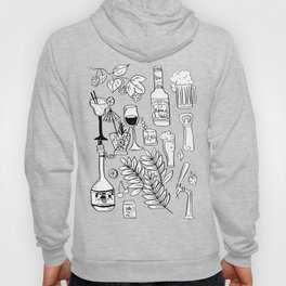Alcohol Doodles Hoody