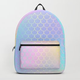 Rainbow Mermaid Abstraction Backpack