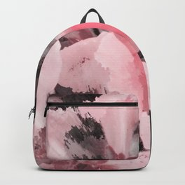 Light Pink Snapdragons Abstract Flowers Backpack
