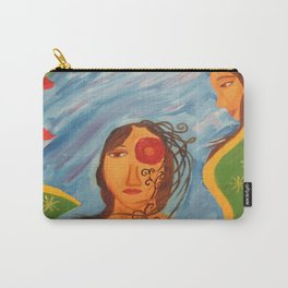 """""""Today you are Called Chicana"""" Carry-All Pouch"""