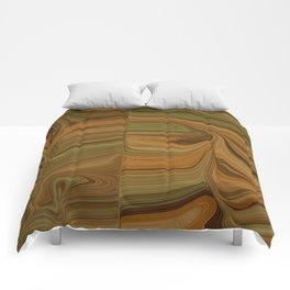 WOULD earth tone camouflage woodgrain Comforters