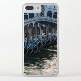 Postcards from Venice Clear iPhone Case