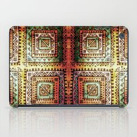 quilt iPad Cases featuring Ancient Quilt by Robin Curtiss