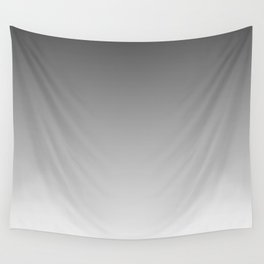 Gray Light Ombre Wall Tapestry