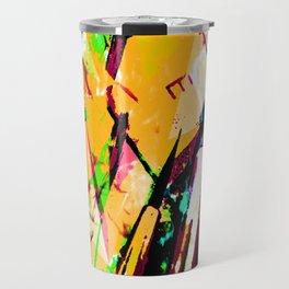 iDeal Artistry 2018 - Keys & Brushes - orange Travel Mug