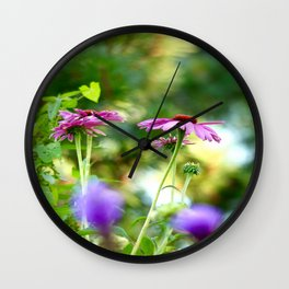 Piece of Poetry #decor #society6 Wall Clock