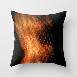 Doll Heart Throw Pillow