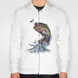 Bass Fish Hoody