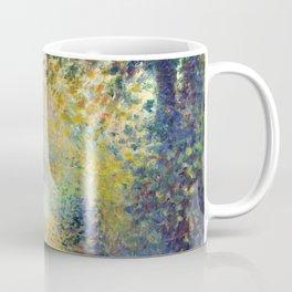 """Auguste Renoir  """"In the Woods"""" Coffee Mug"""