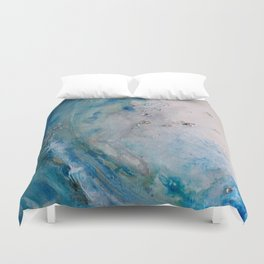 Bombora...ghost surfer Duvet Cover