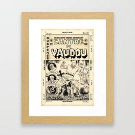 El Spectro - L'Antre du Vaudou Framed Art Print