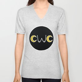 CWC New Moon Logo Unisex V-Neck