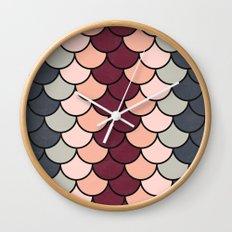 Tea Tones Wall Clock