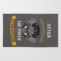 terminator Area & Throw Rugs featuring Terminator 2, Warhammer 40K by ZsaMo Design