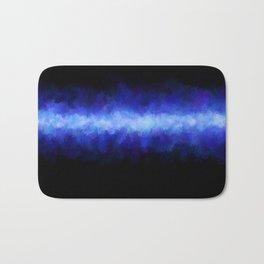 Blue Light Beam Bath Mat